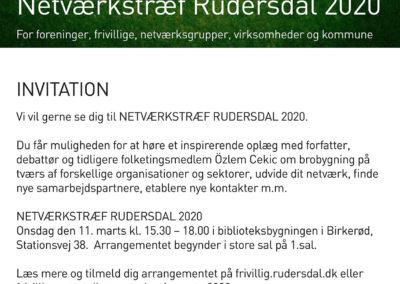 Invitation til netværkstræf